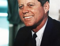 U.S. President John F. Kennedy