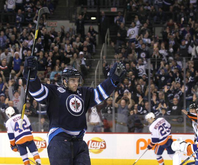 Winnipeg Jets LW Andrew Ladd