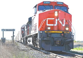 CN Rail cargo train (STEVE COLEMAN/Postmedia Network files)