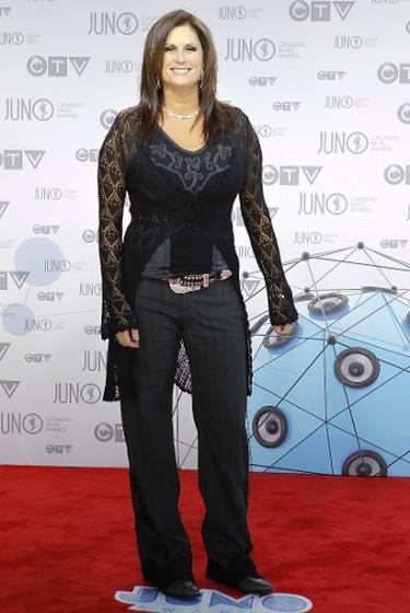Terri Clark  on the Red Carpet during the 2012 JUNO Awards Show in Sunday peril 1, 2012.   Darren Brown/Ottawa Sun/QMI