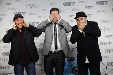 Monkey Junk on the Red Carpet during the 2012 JUNO Awards Show in Ottawa Sunday April 1, 2012.   Darren Brown/Ottawa Sun/QMI