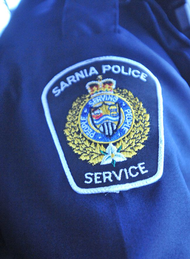 Sarnia police crest
