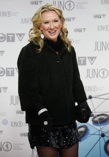 Melanie Berry on the Red Carpet during the 2012 JUNO Awards Show in Ottawa Sunday April 1, 2012.   Darren Brown/Ottawa Sun/QMI