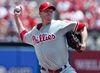 Philadelphia Phillies starting pitcher Roy Halladay will miss 6-8 weeks. (REUTERS)