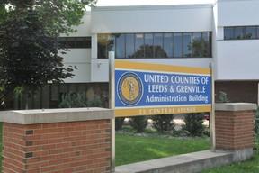 The United Counties of Leeds-Grenville building in Brockville.