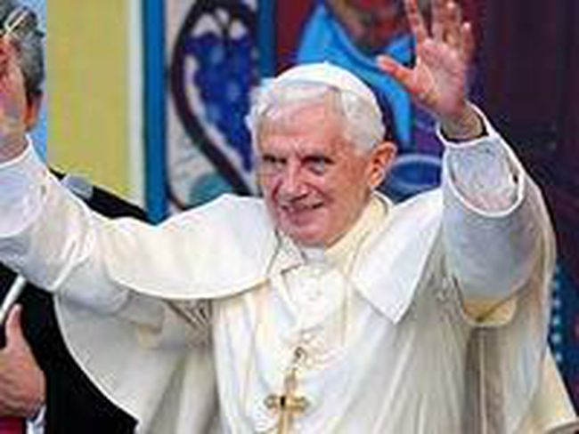Pope Benedict XVI. REUTERS/Giorgio Benvenuti