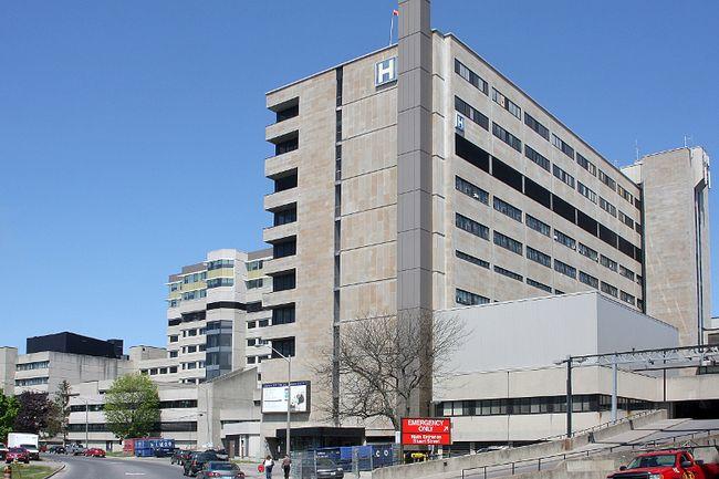 Kingston General Hospital.
