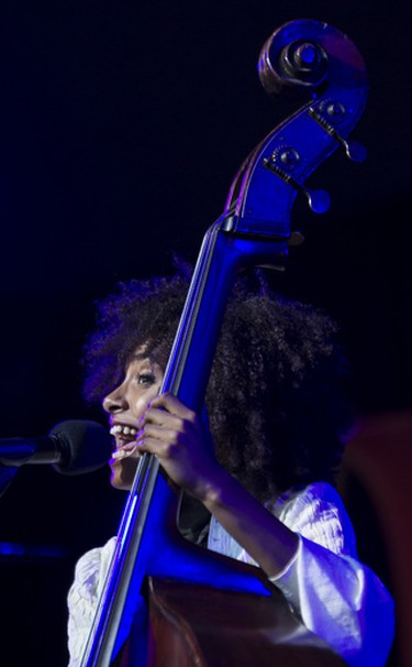 Esperanza Spalding Radio Music Society performing at the Ottawa Jazz Festival on Wednesday June 27,2012. (ERROL MCGIHON/THE OTTAWA SUN/QMI AGENCY).