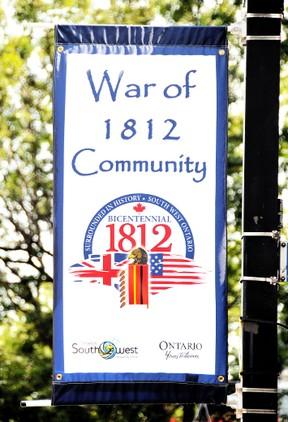 War of 1812 banner