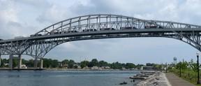 Blue Water Bridge in Sarnia, Ont. (QMI AGENCY/File Photo)