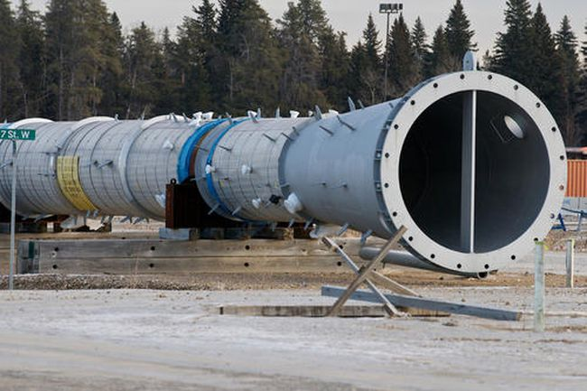 Northern Gateway pipeline. (QMI Agency File)