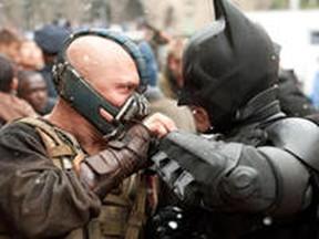 The Dark Knight Rises. (Handout)