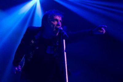 Iron Maiden's Bruce Dickinson performs at Rexall Place in Edmonton on Friday, July 27, 2012. CODIE MCLACHLAN/EDMONTON SUN QMI AGENCY