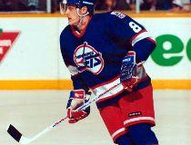 Teemu Selanne as a Winnipeg Jet.