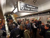 TTC subway riders