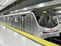 TTC subway train