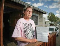 Cindy MacDonald Midfield Trailer Park eviction