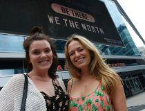 Carly McKee, 19, (L) and Tori Lovegrove