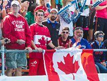 Canada fans