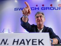 Swatch Group chief executive Nick Hayek Jr.