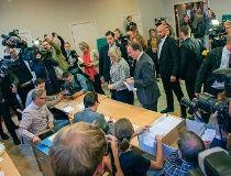 Sweden's Social Democrats Leader Stefan Lofven