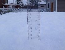 Snow in Geraldton
