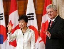 Harper and Park Geun-hye