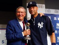 Jeter given Commissioner's Historic Achievement Award