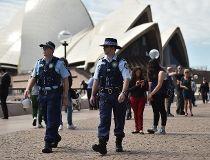 Sydney Opera House cops
