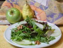 fall green salad