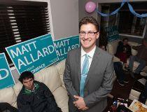 Matt Allard is now a city councillor in Winnipeg. Wednesday, October 22/ 2014.  Chris Procaylo/Winnipeg Sun/QMI Agency