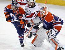 Photos; Oilers versus Capitals
