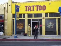 Kat Von D tattoo shop fire