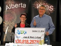 Edmonton couple wins $30-million jackpot