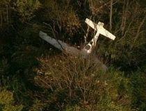 wreckage of a Cirrus SR 22 airplane