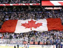 Leafs anthem flag