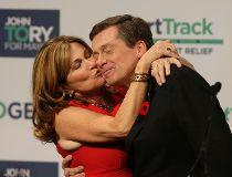John Tory kiss