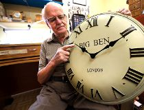 Hess Nyenhuis from Golden Hour Clock Shop