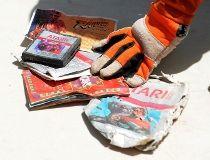 Recovered Atari cartridge