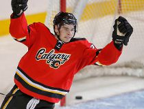 Flames defeat Devils, Nov. 22, 2014
