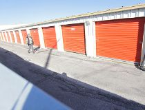 U-Haul storage locker