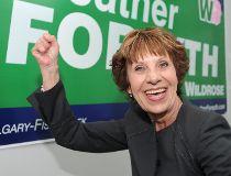 Wildrose Candidate for Calgary Fish-Creek, Heather Forsyth