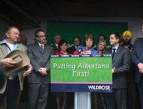 New interim Wildrose party leader Heather Forsyth