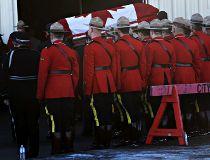 RCMP officer Const. David Wynn in St. Albert