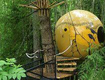 Free Spirit Spheres, British Columbia