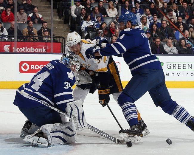 Maple Leafs' Franson 'loves it in Toronto'