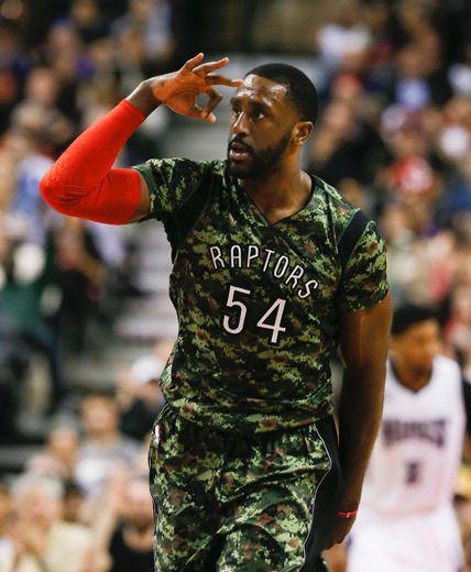 Toronto Raptors' Patrick Patterson makes his Oscar picks