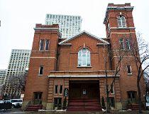 Edmonton's McDougall Church, Feb. 24, 2015. (Cody McLachlan/Edmonton Sun)