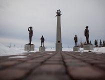 The Fallen Four memorial