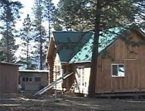 stolen log cabin
